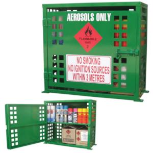 ASC60 | Aerosol Can - 60 Can Storage Cabinet | Class 2 Aerosol Storage | safety cabinet | safe storage | class 2 | Ecospill Brisbane Sydney Melbourne Perth Adelaide North Queensland | ACT | Australia | best dangerous goods storage